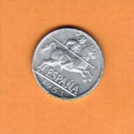 SPAIN   10 CENTIMOS 1953  (KM # 766) - [ 5] 1949-… : Kingdom