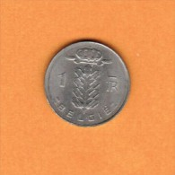 BELGIUM   1 FRANC (DUTCH) 1975 (KM # 143.1) - 04. 1 Franc