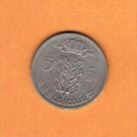 BELGIUM   5 FRANCS (FRENCH) 1949 (KM # 134.1) - 03. 5 Francs
