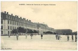 5 CPA : Saint Mihiel, Casernes Du 161e Régiment D'Infanterie, 12e Chasseurs, Rue Carnot, ... - Saint Mihiel