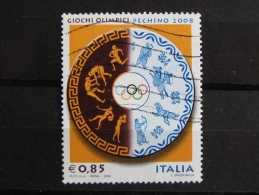 ITALIA USATI 2008 - PECHINO 2008 - SASSONE 3045 - RIF. G 2082 - 1^ SCELTA - 6. 1946-.. Repubblica