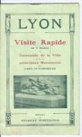 Lyon,visite Rapide - Dépliants Touristiques
