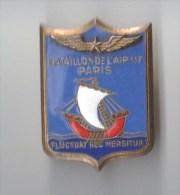 INSIGNE  BATAILLON DE L´ AIR 117 PARIS , émail - AREMAIL PARIS - Forze Aeree