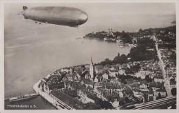 AK Friedrichshafen Mit Zeppelin Vom 17.6.37 Ansehen !!!!!!!!!!!!! - Zeppeline
