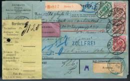 Deutsches Reich, 1896, Hanau-Schännis - Briefe U. Dokumente
