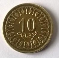 Monnaie - Tunisie - 10 Millim 1960 - Superbe - - Tunisia