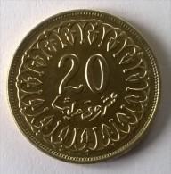 Monnaie - Tunisie - 20 Millim 1983 - Superbe - - Tunisia