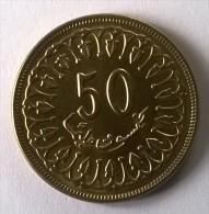 Monnaie - Tunisie - 50 Millim 1983 - Superbe - - Tunisia