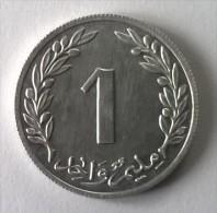 Monnaie - Tunisie - 1 Millim 1960 - Superbe - - Túnez