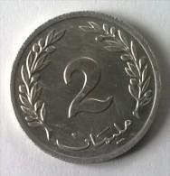 Monnaie - Tunisie - 2 Millim 1960 - Superbe - - Tunisia