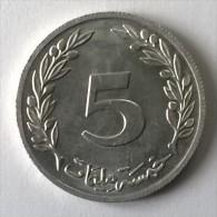 Monnaie - Tunisie - 5 Millim 1960 - Superbe - - Tunisia