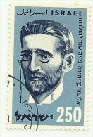 1959 - Israele 163 E. Ben Yehuda C4135, - Celebrità