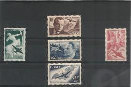 FRANCE  P.A. 1946/48 N° Y&T : 16/17-21/23**