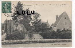 DEPT 77 : Egreville , Le Chateau Ses Communs Et Ruines De La Grange Des Dimes - Altri Comuni