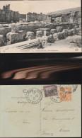 3524) CARTAGINE CARTHAGE LE THEATRE ROMAIN LES CHAPITEAUX VIAGGIATA 1925 - Tunisie