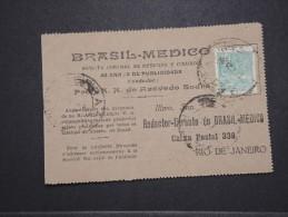 BRESIL - Carte Commerciale Médicale Pour Rio De Janeiro - A Voir - Lot P14730 - Briefe U. Dokumente