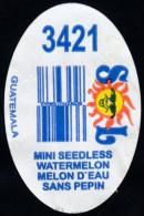 Fruits & Vegetables - Mini Seedless Watermelon, Produce Of Guatemala (*) (FL3421) - Fruits & Vegetables