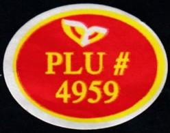 Fruits & Vegetables - Plu (FL4959) - Fruits & Vegetables