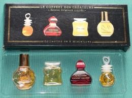Le Coffret Des Créateurs - Collection De 4 Miniatures De Parfum (Maroussia, Oui-Non, Naf-Naf, Vanderbilt) - Modern Miniatures (from 1961)
