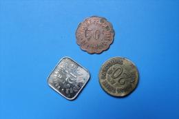RFRA152 LOT DE JETONS ABIMEE - Monete Allungate (penny Souvenirs)