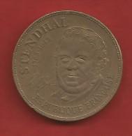 Pièce 10 F Francs Stendhal 1983 A - France