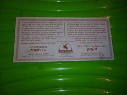 AA3-7 Carton Chocolat Jacques 20x9 - Eupen - Bilingue - Chocolat