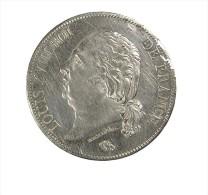 5 Francs - Louis XVIII - France - 1822 A - Paris  - Argent - TB+ - - France