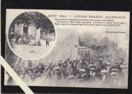 Bouguenais - Les Couets - Guerre 14/18 - Prisonniers Allemands Arrivant Le 12 Aout Aux Couets - Bouguenais