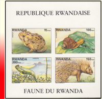 Rwanda BL 110**  Faune Du Rwanda  MNH - Rwanda