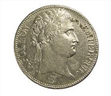 5 Francs - Napoléon 1er  - France - 1810 A - Paris  - Argent - TB - - France