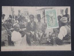 DJIBOUTI - Devant Un Café Somalis - 1910 - A Voir - Lot P14748 - Gibuti
