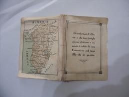WW2 FASCISMO CALENDARIETTO GUERRA ALBANIA 1943 - Calendars