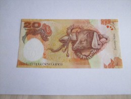 --1- BILLET---20-kina---2008--PAPOUASIE-NOUVELLE-GUINEE--NEUF-- - Papouasie-Nouvelle-Guinée
