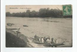 GARGENVILLE BERGES DE RANGIPORT (PERSONNES DANS BARQUE) - Gargenville