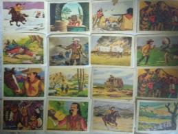 Lot De 47 Images Buffalo Bill Chocolat Des Gourmets - ( Chromo ) - Chocolat