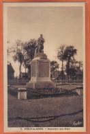 Carte Postale 62. Noeux-les-Mines Le Monument Aux Morts   Trés Beau Plan - Noeux Les Mines