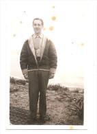 Photographie Militaria Sodat Américain Blouson Pilote Au Goulets Vercors 21/04/1944 Photo 6x8,7 Cm Env - Guerre, Militaire