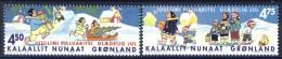 #Greenland 2002. Christmas. Michel 389-90. MNH(**) - Neufs