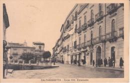 CALTANISETTA - Corso ...... Animata, Viag. 1930, Vedi Retro - GEN-01-18,19 - Caltanissetta