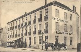 KNOCKE KNOKKE : Hotel Communal De Knocke - TRES RARE CPA - Cachet De La Poste 1906 - Knokke