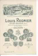 LOUIS REGNIER  - FABRIQUE DE GRANDES LIQUEURS - DIJON - Dijon