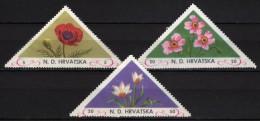N. D. HRVATSKA - 1952 FLOWERS (*) - Croacia