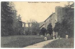 Alet Les Bains - L'Evéché - Ruines De La Cathédrale - France
