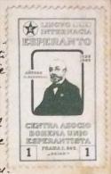ESPERANTO - PRAGA  PRAHA  1909 -Ludwik Lejzer Zamenhof - CENTRA ASOCIOBIHEMA UNIO ESPERANTISTA - SU CARTOLINA PER NAPOLI - Esperanto