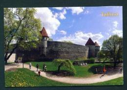 ESTONIA  -  Tallinn  Commandant's Garden  Used Postcard As Scans - Estonia