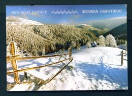 UKRAINE  -  Carpathian Mountains  Used Postcard As Scans - Ukraine