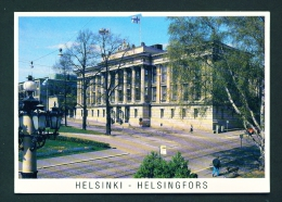 FINLAND  -  Helsinki  Helsingfors  National Archives  Used Postcard As Scans - Finland