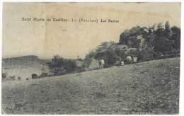 Saint Martin De Castillon - Les Ruines - Autres Communes