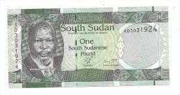 South Sudan 1 Pound 2011 UNC - Sudan