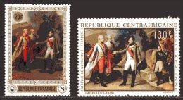 Rwanda / Centrafrique  XX  --  Napoléon Bonaparte  -   Entrevue Avec François II - Napoléon